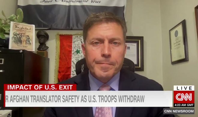 CNNi: Steve Miska Discusses Strategies to Protect Afghan Interpreters with Michael Holmes