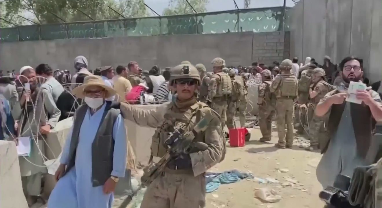KTLA5 – Veterans and nonprofit organizations in downtown L.A. help with evacuations in Afghanistan